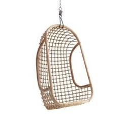 Hkliving :: fotel wiszący rattanowy owalny szer. 72 cm