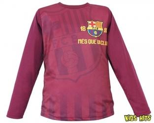 Bluzka fc barcelona crest bordowa 13 lat