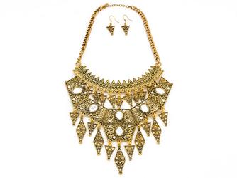 Kolia kolczyki adorned gold - GOLD