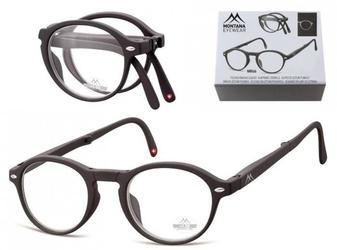 Składane asferyczne okulary do czytania lenonki montana mr66