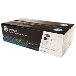 Tonery oryginalne hp 128a ce320ad czarne dwupak - darmowa dostawa w 24h