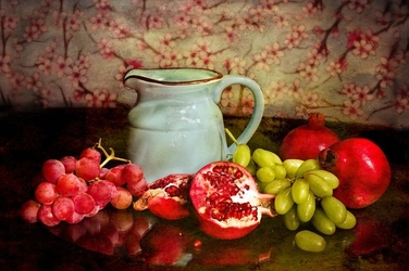 Fototapeta owoce z dzbankiem fp 861