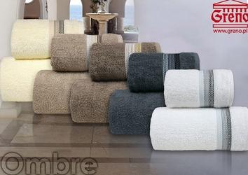 OMBRE KREMOWY ręcznik bawełniany FROTEX - kremowy