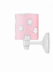 Kinkiet - pink stars