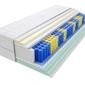 Materac kieszeniowy apollo 130x240 cm średnio twardy 2x lateks visco memory