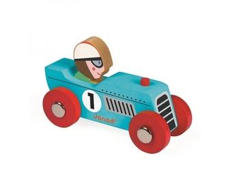 RETROMOTOR niebieska wyścigówka