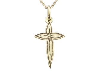 Krzyż z żółtego złota wec-z-krzyż-1