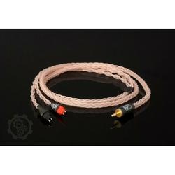 Forza AudioWorks Claire HPC Mk2 Słuchawki: Denon D600D7100, Wtyk: 2x Furutech 3-pin Balanced XLR męski, Długość: 2,5 m
