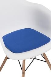 Poduszka na krzesło arm chair - niebieski