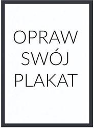 Rama na plakat czarna drewniana 21 x 30 cm bez passepartout