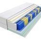 Materac kieszeniowy apollo 125x135 cm średnio twardy 2x lateks visco memory