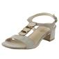 Sandały sagan 52856 beżowe
