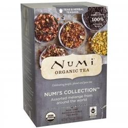 Zestaw herbat bio numis collection, 9 różnych smaków 18 torebek, numi organic tea