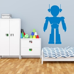 Szablon malarski dla dzieci robot 18sm45