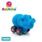 Rubbabu słoń – pojazd sensoryczny niebieski mikro