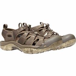 Sandały męskie keen newport h2 - brązowy