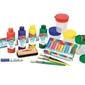 Akcesoria do prac plastycznych duży zestaw