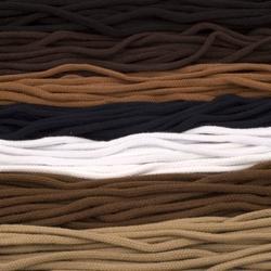 Gęsto plecione sznurowadła tarrago 5,5 mm