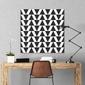 Triangle - designerski obraz na płótnie , wymiary - 100cm x 100cm