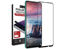 Szkło alogy full glue case friendly do huawei p smart z y9 prime 2019 czarne