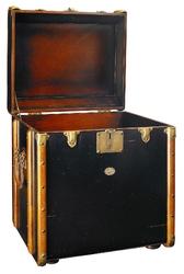 Authentic models kuferekstolik stateroom, czarny mf079b