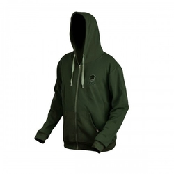 Bluza z kapturem prologic bank bound zip hoodie green roz. l
