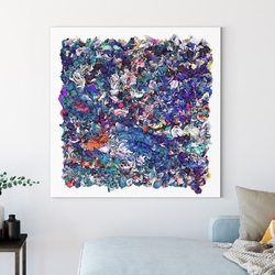 Obraz na płótnie - artistic ecstasy , wymiary - 90cm x 90cm