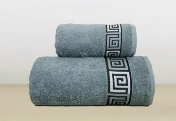 Ręcznik DUNAJ Greno popielaty - popielaty