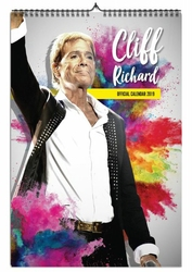 Cliff Richard - kalendarz A3 na 2019 rok