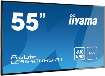 Monitor LED IIYAMA LE5540UHS-B1 4K 55 - Szybka dostawa lub możliwość odbioru w 39 miastach