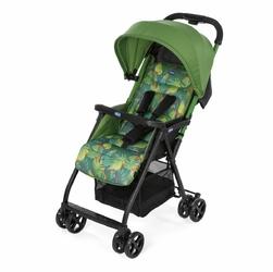 Ohlala Zielony Jungle Wózek spacerowy + FOLIA+ ORGANIZER Dla MAMY