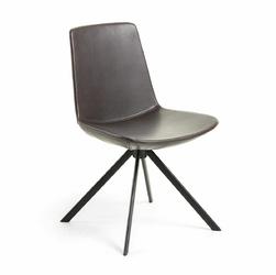 Krzesło TOKKA 50x56 kolor brązowy - brązowy