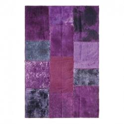 KARE Design :: Dywan Patchwork Velvet Purple - Z EKSPOZYCJI