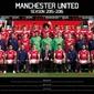 Manchester United - Drużyna 1516 - plakat