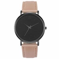 Zegarek damski NUBUK MAT klasyk SIMPLE RÓŻOWY - różowy