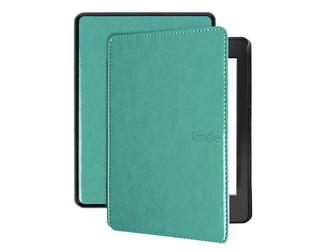 Etui Alogy do Kindle Paperwhite 4 niebieskie z paskiem + Szkło - Niebieski