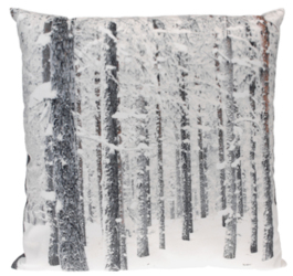INTERIOR SPACE :: Poduszka Trees 45 x 45 cm - wzór 1 - wzór 1