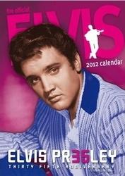 Elvis Presley - kalendarz 2012 r.