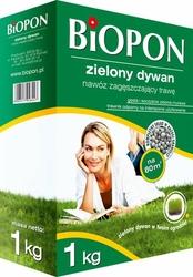 Biopon, Zielony Dywan, nawóz granulowany do trawnika , 1kg