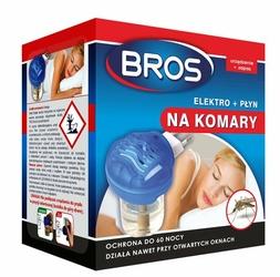 Bros Elektro, urządzenie elektryczne z płynem przeciw komarom, 60 nocy