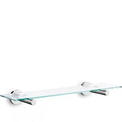 Półka łazienkowa szklana Scala Zack 50cm 40006