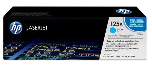 HP Toner CLJ CP1215 1.4k CB541A BŁĘKITNY