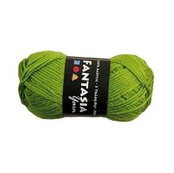 Włóczka akrylowa - zielony - ZIEL