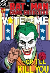 Batman Czarny Detektyw - Joker - fototapeta