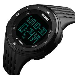 Zegarek sportowy SKMEI 1219 CHRONOGRAF black - BLACK