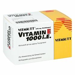Vitagutt Vitamin E 1000 Kapseln