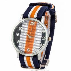 Zegarek kolor granatowy - granatowy