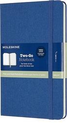 Notes Moleskine Two-Go M niebieski