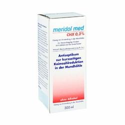 Meridol med Chx 0,2 płyn do płukania jamy ustnej