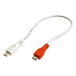 Kabel USB 2.0, USB A  M- USB micro M, 0.3m, czarny